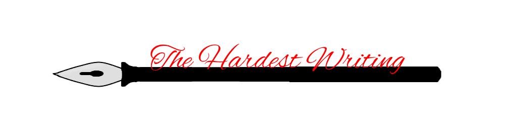 hardest-writing